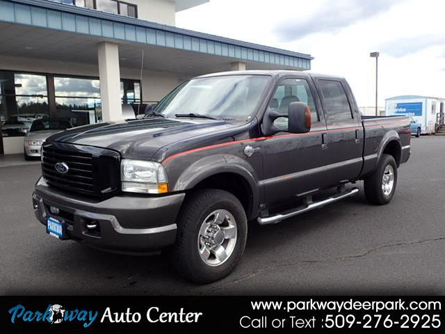 2004 Ford F-250 SD Lariat Crew Cab Short Bed 4WD Turbo Diesel