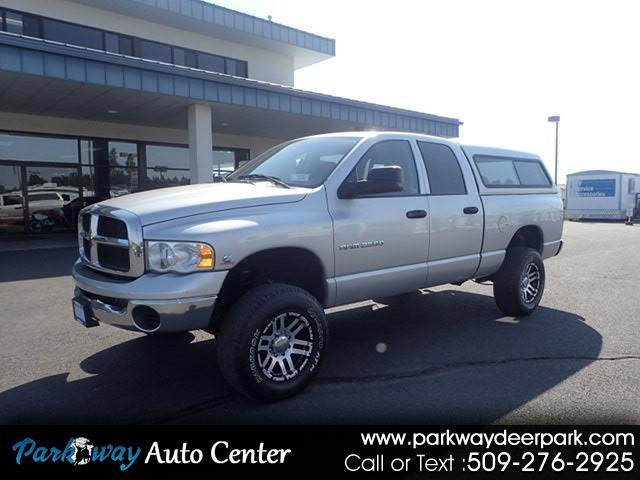2005 Dodge Ram 2500 SLT Quad Cab Short Bed 4WD Turbo Diesel