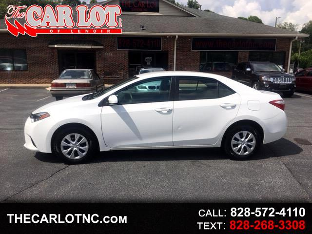 used 2015 toyota corolla 4dr sdn cvt le premium natl for sale in lenoir nc 28645 the car lot. Black Bedroom Furniture Sets. Home Design Ideas