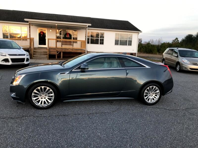2011 Cadillac CTS Coupe 2dr Cpe Performance RWD