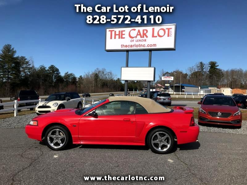 2003 Ford Mustang 2dr Conv GT Deluxe