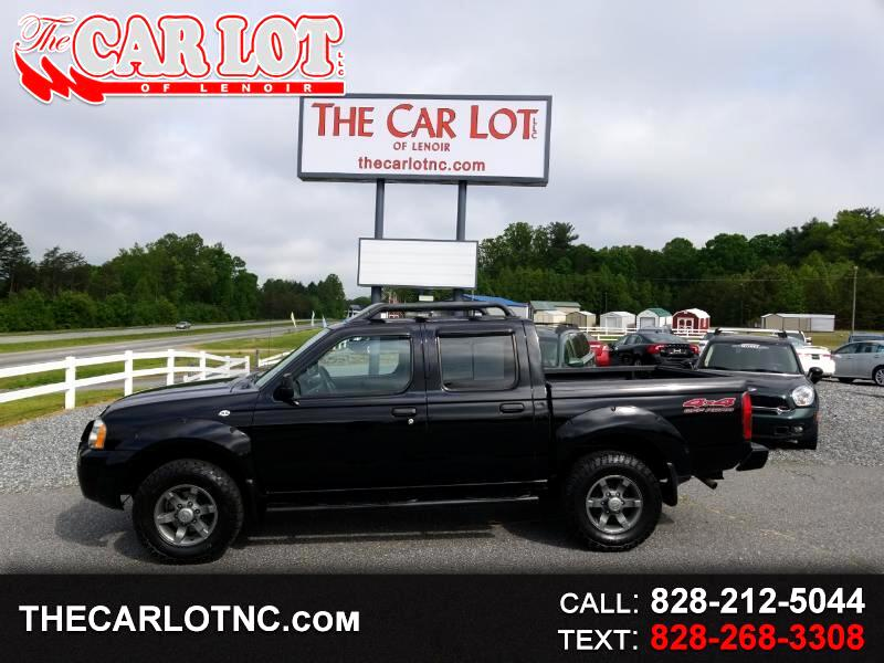 2004 Nissan Frontier 4WD XE Crew Cab V6 Manual Std Bed
