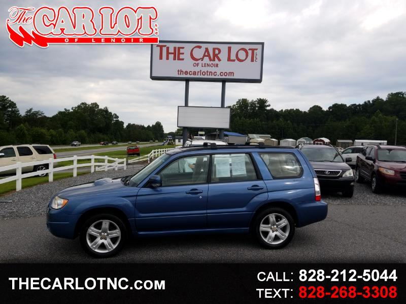 2007 Subaru Forester AWD 4dr H4 Turbo MT XT Ltd
