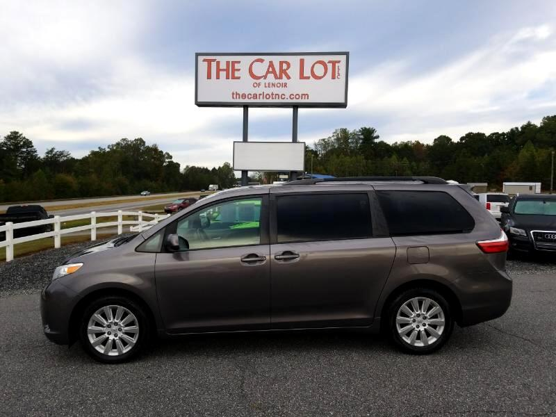 Car Lots In Lenoir Nc >> Used 2015 Toyota Sienna 5dr 7 Pass Van Le Awd Natl For