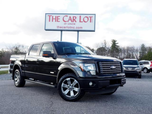 """Ford F-150 4WD SuperCrew 139"""" FX4 2012"""