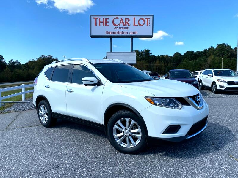 used 2016 nissan rogue fwd 4dr sv for sale in hickory nc 28645 the car lot of lenoir used 2016 nissan rogue fwd 4dr sv for