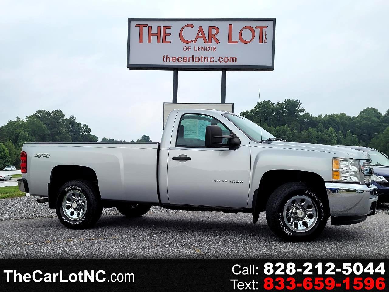 """Chevrolet Silverado 1500 4WD Reg Cab 133.0"""" Work Truck 2012"""