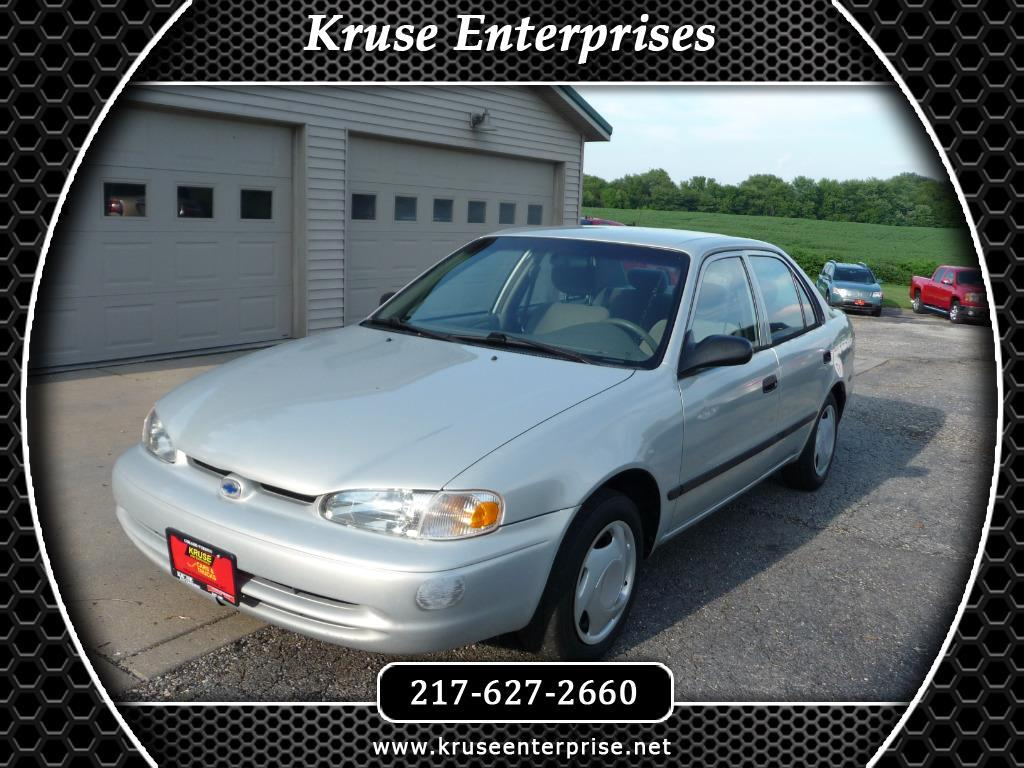 2001 Chevrolet Prizm 4dr Sdn