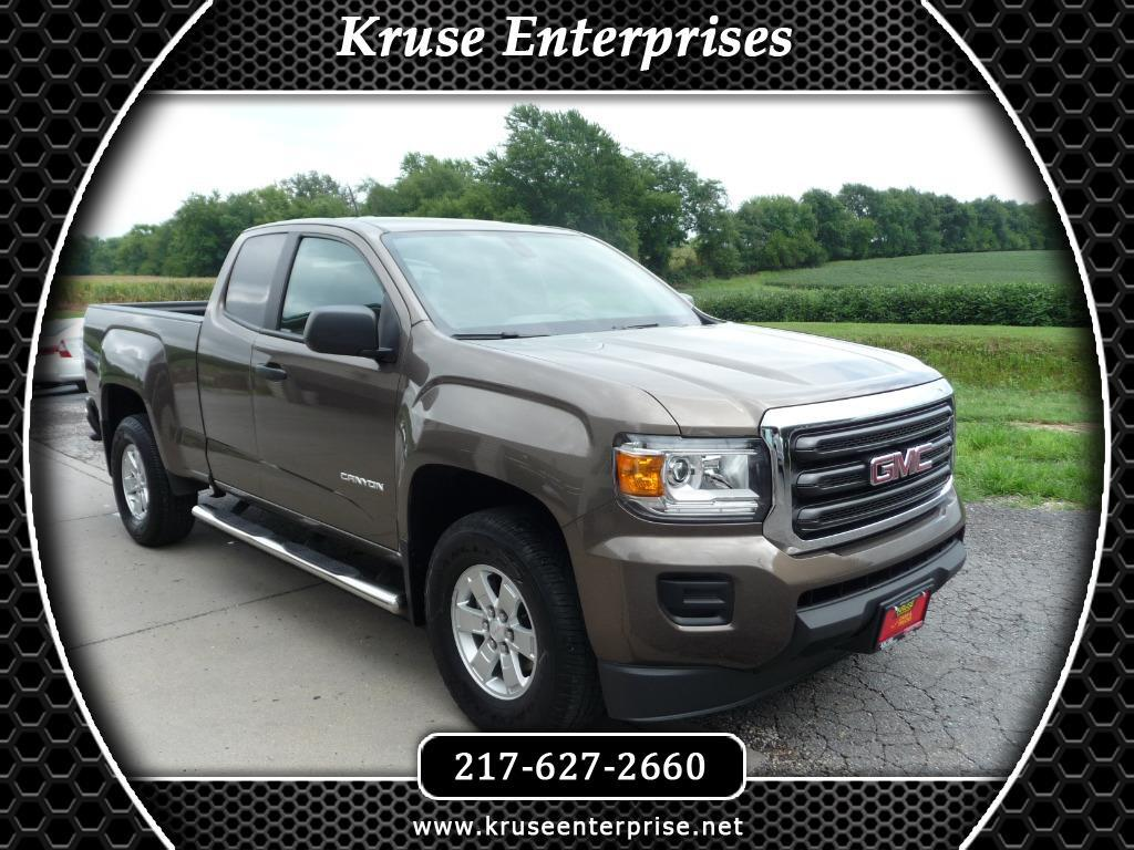 2016 GMC Canyon 2WD Ext Cab 128.3""