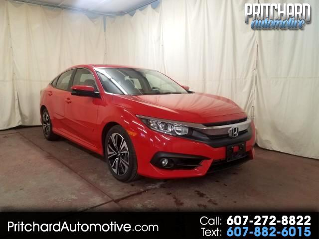 2016 Honda Civic EX-L Sedan 5-Speed AT with Navigation