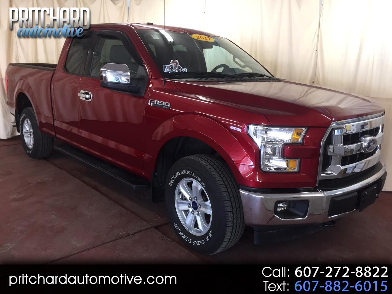 2017 Ford F-150 XL 4WD SuperCab 6.5' Box