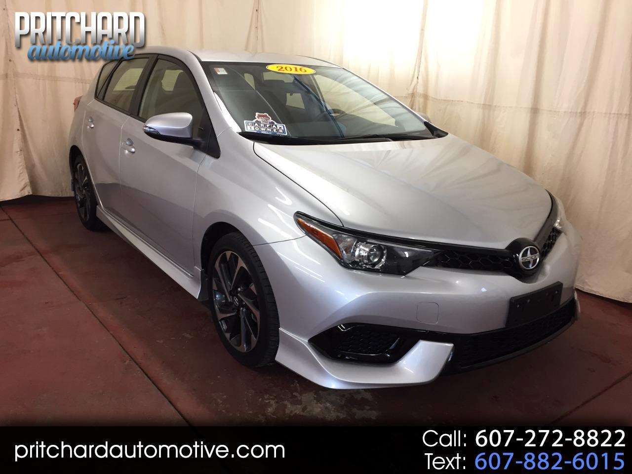 Scion iM 5dr HB Man (Natl) 2016