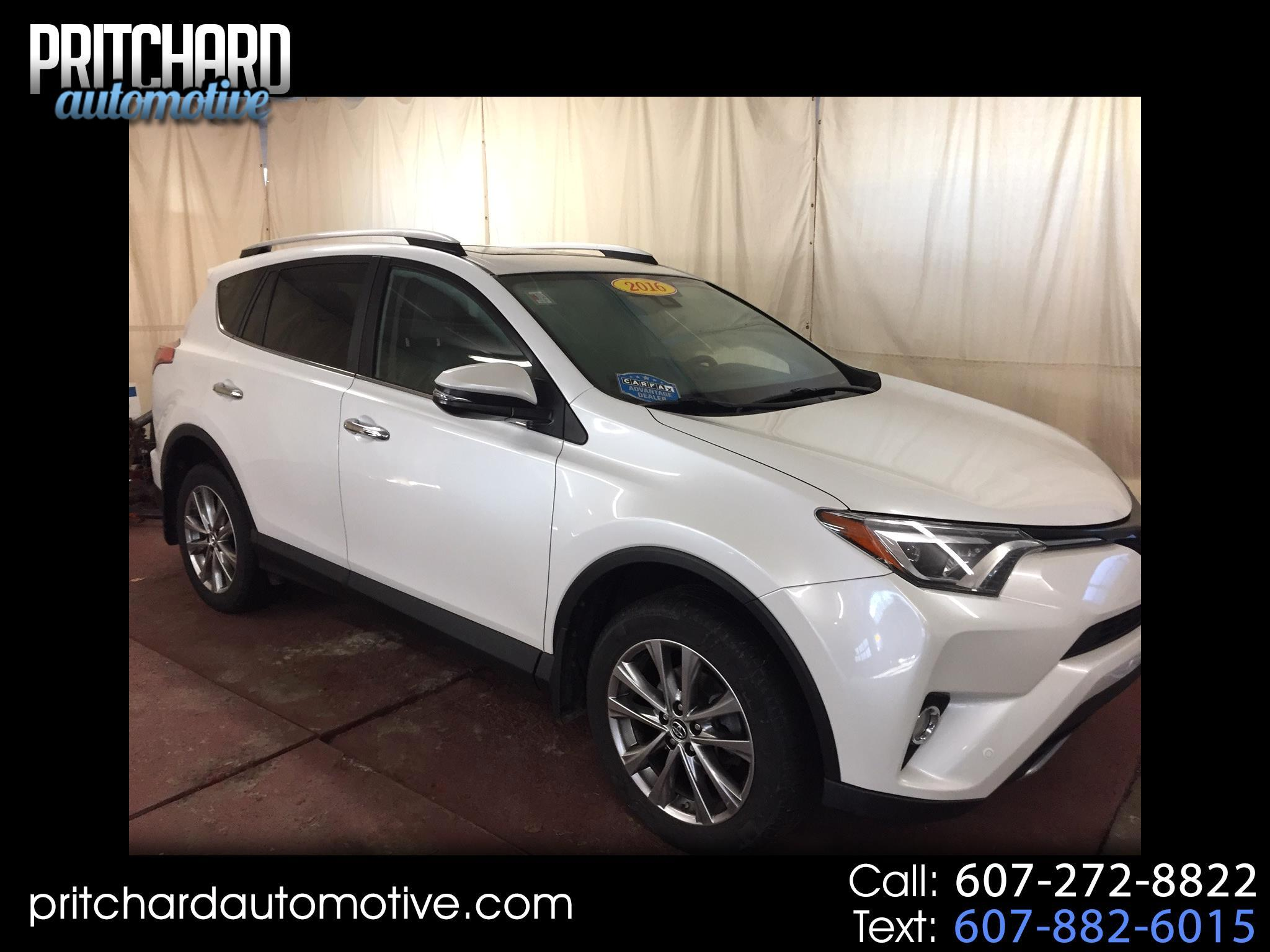 Toyota RAV4 AWD 4dr Limited (Natl) 2016