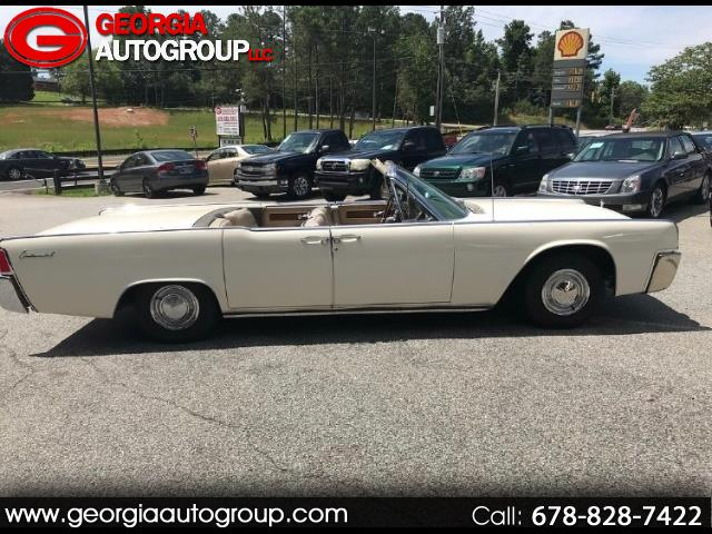 1963 Lincoln Continental Convertible