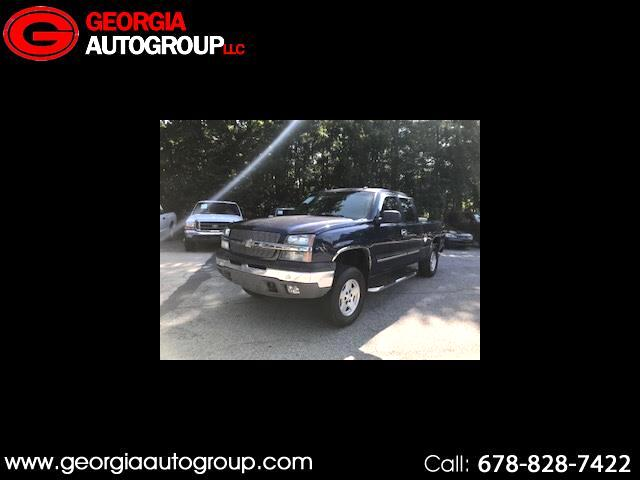 2004 Chevrolet Silverado 1500 Work Truck Ext. Cab Short Bed 2WD
