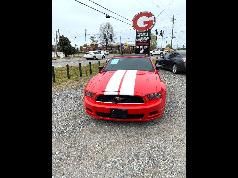 Ford Mustang 2dr Conv Standard 2014