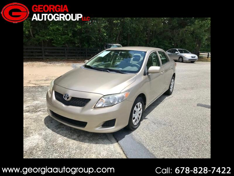 Toyota Corolla Base 4-Speed AT 2009