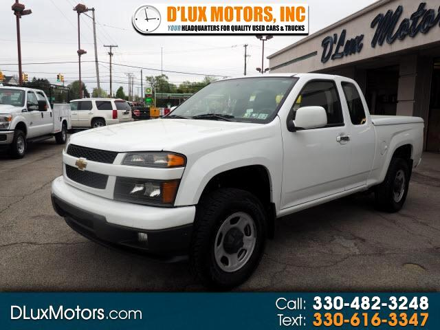 2012 Chevrolet Colorado 4WD Ext Cab Work Truck