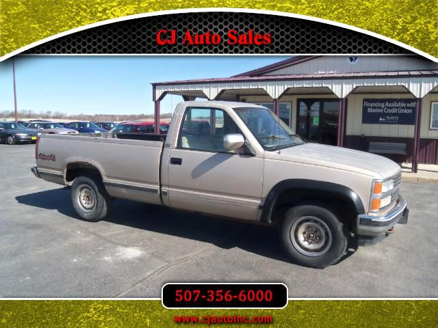 1990 Chevrolet C/K 1500 Reg. Cab W/T 8-ft. Bed 4WD