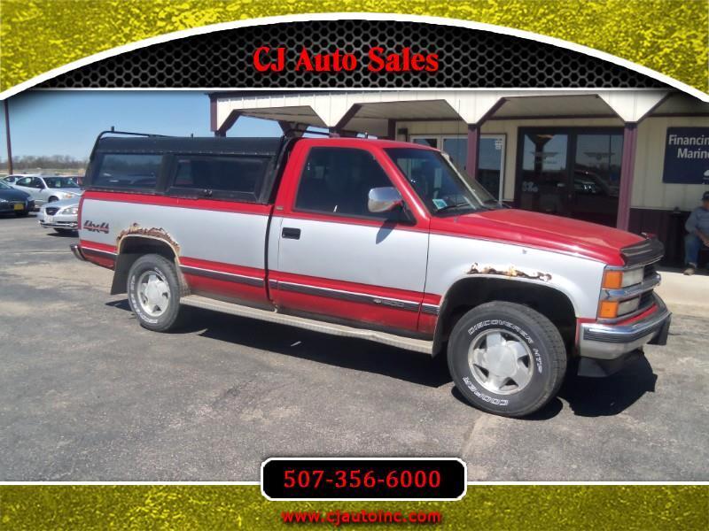 1994 Chevrolet C/K 1500 Reg. Cab W/T 8-ft. Bed 4WD