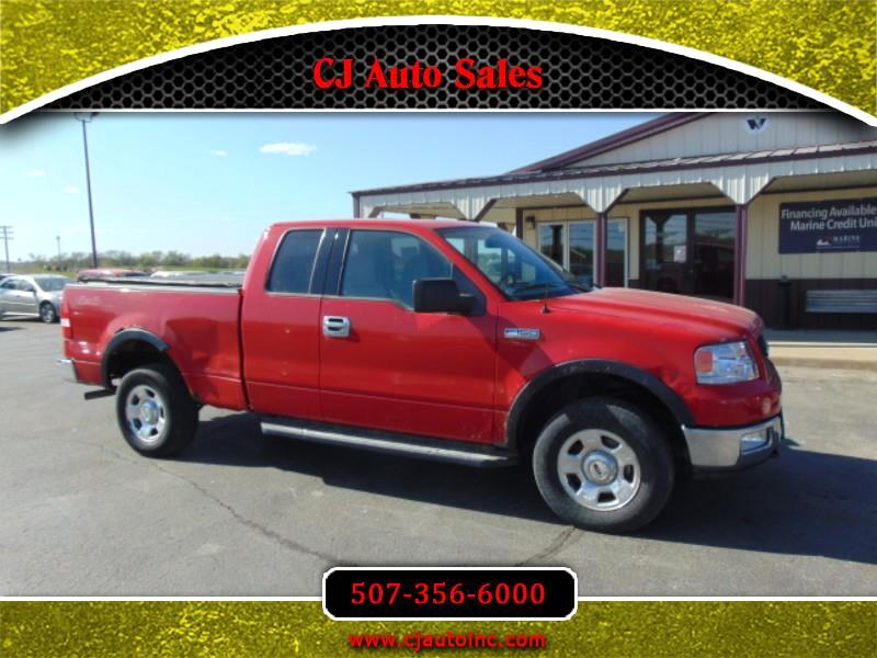 Ford F-150 XLT SuperCab 5.5-ft Box 4WD 2004