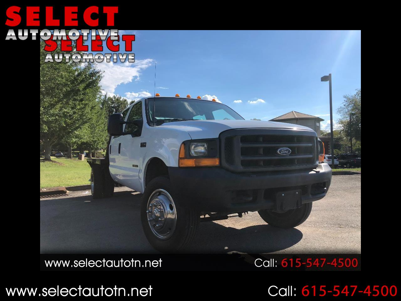 2001 Ford F-450 SD Crew Cab 2WD DRW