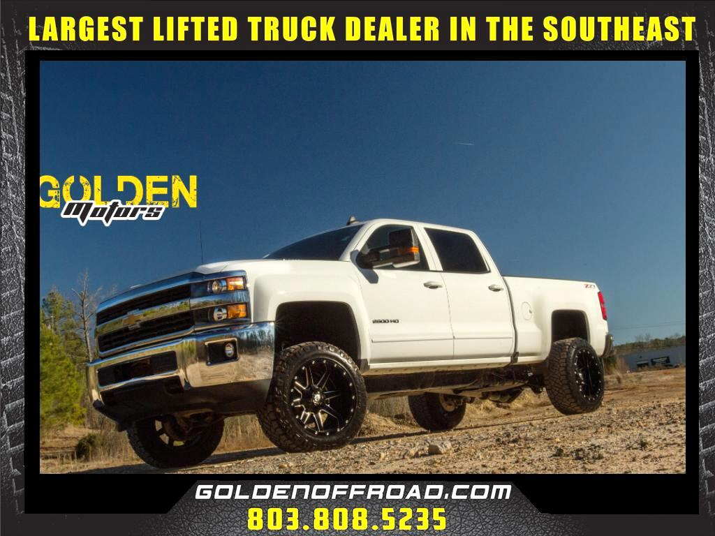 2016 Chevrolet Silverado 2500HD LT Z71 Crew Cab 4WD Duramax 3.5 In. Lifted Fuel