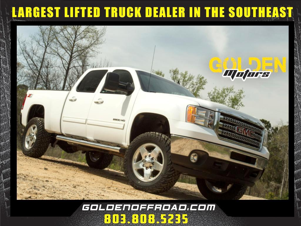 2013 GMC Sierra 2500HD SLT Z71 Crew Cab 4WD Duramax 3.5 In. Lifted Fuel