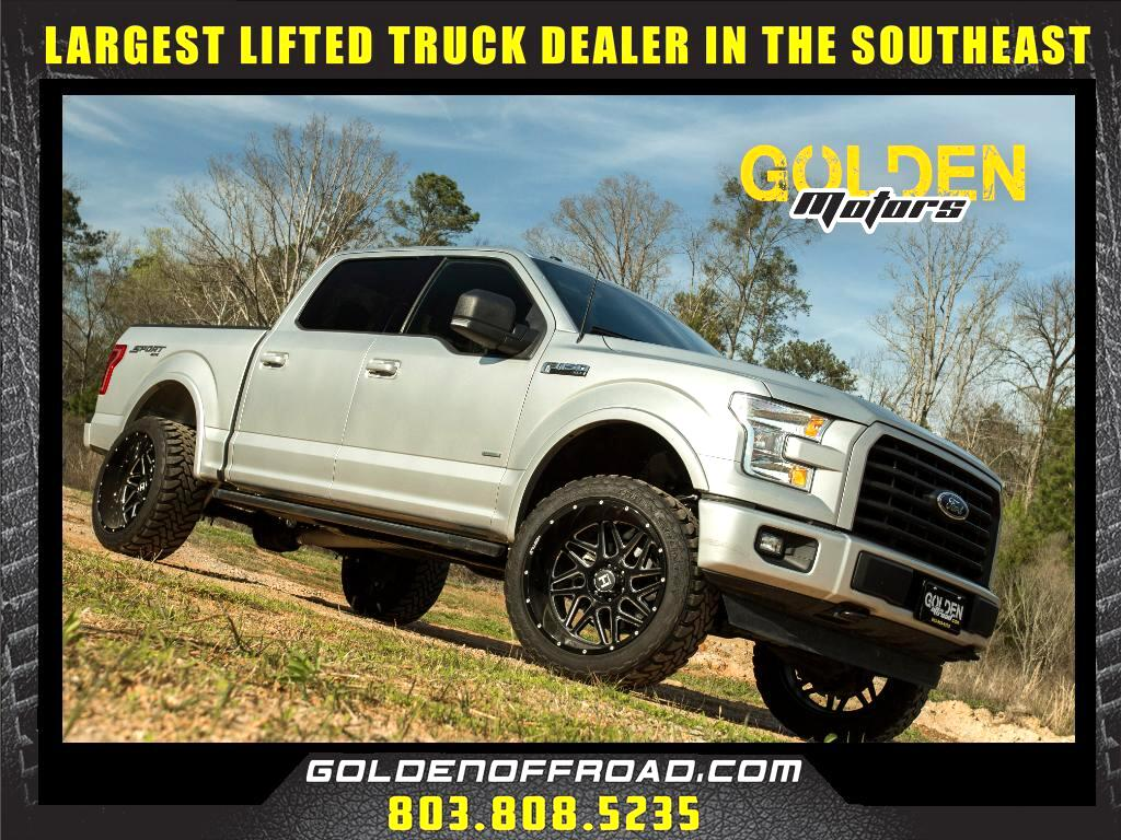 2016 Ford F-150 XLT Sport Super Crew 4WD 3 In. Lifted Hostile Toyo