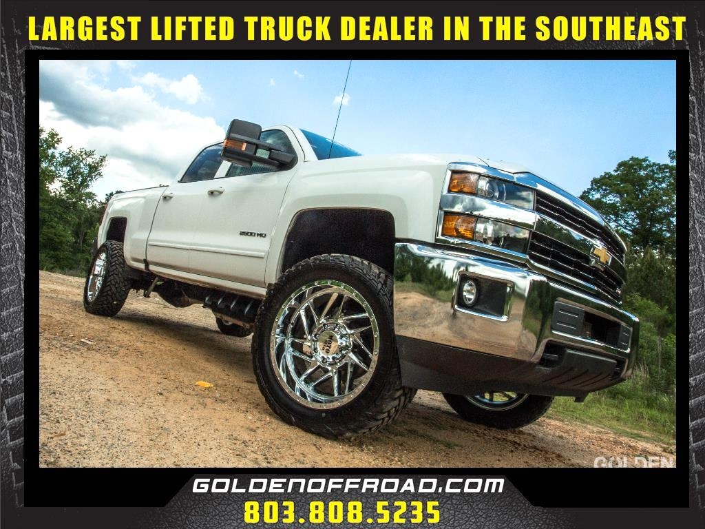 2017 Chevrolet Silverado 2500HD LT Z71 Crew Cab 4WD Duramax 3.5 In. Lifted Fuel