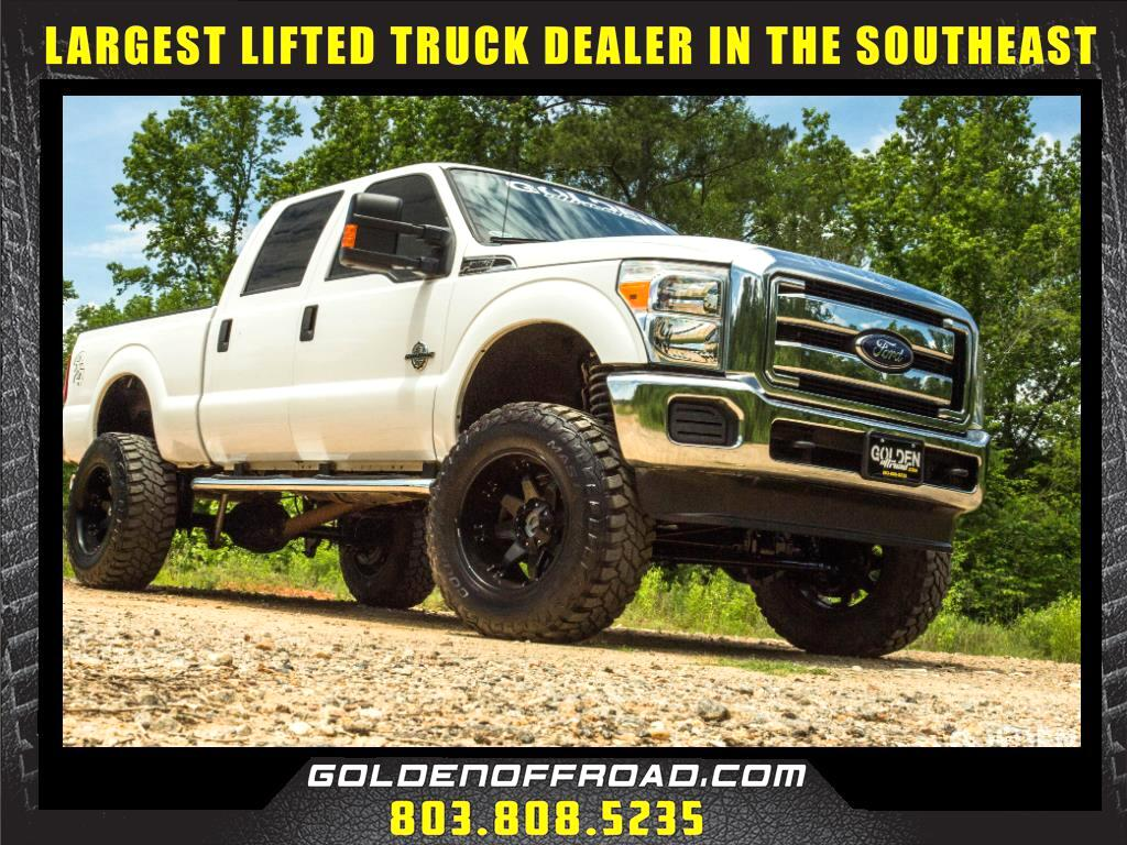 2015 Ford F-250 SD XLT Super Crew 4WD Powerstroke 6 In. Lifted Fuel