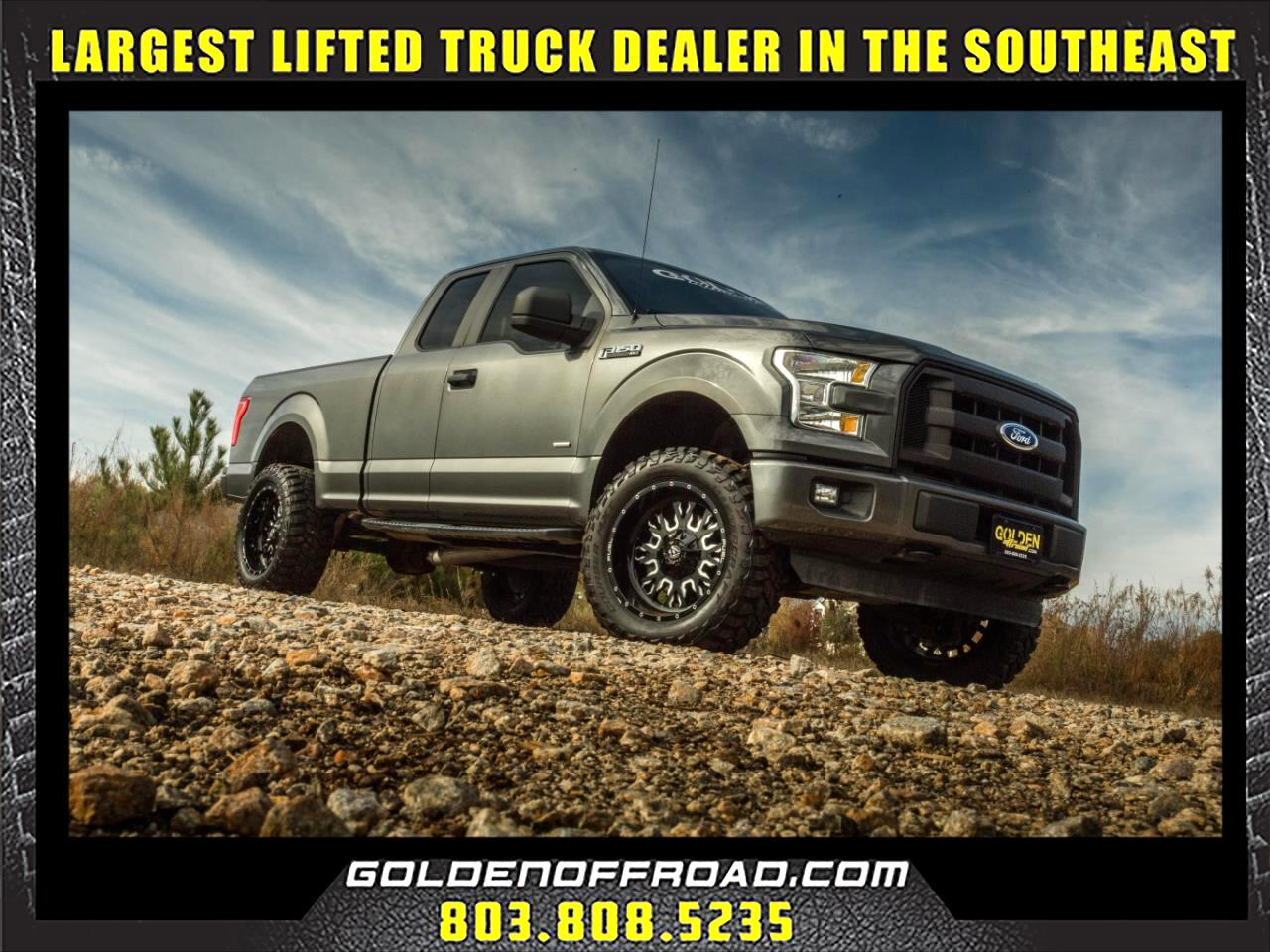 2015 Ford F-150 4WD SuperCab Lifted FX4 Fuel Wheels, Ecoboost!