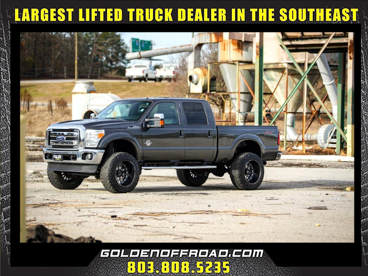 2016 Ford F-250 Crew Cab F250 Lariat Crew Cab LIfted Forged Fuel Toyo 37's