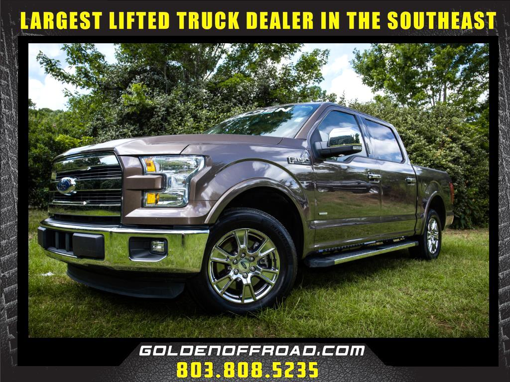 2015 Ford F-150 Lariat SuperCrew Short Bed 2WD