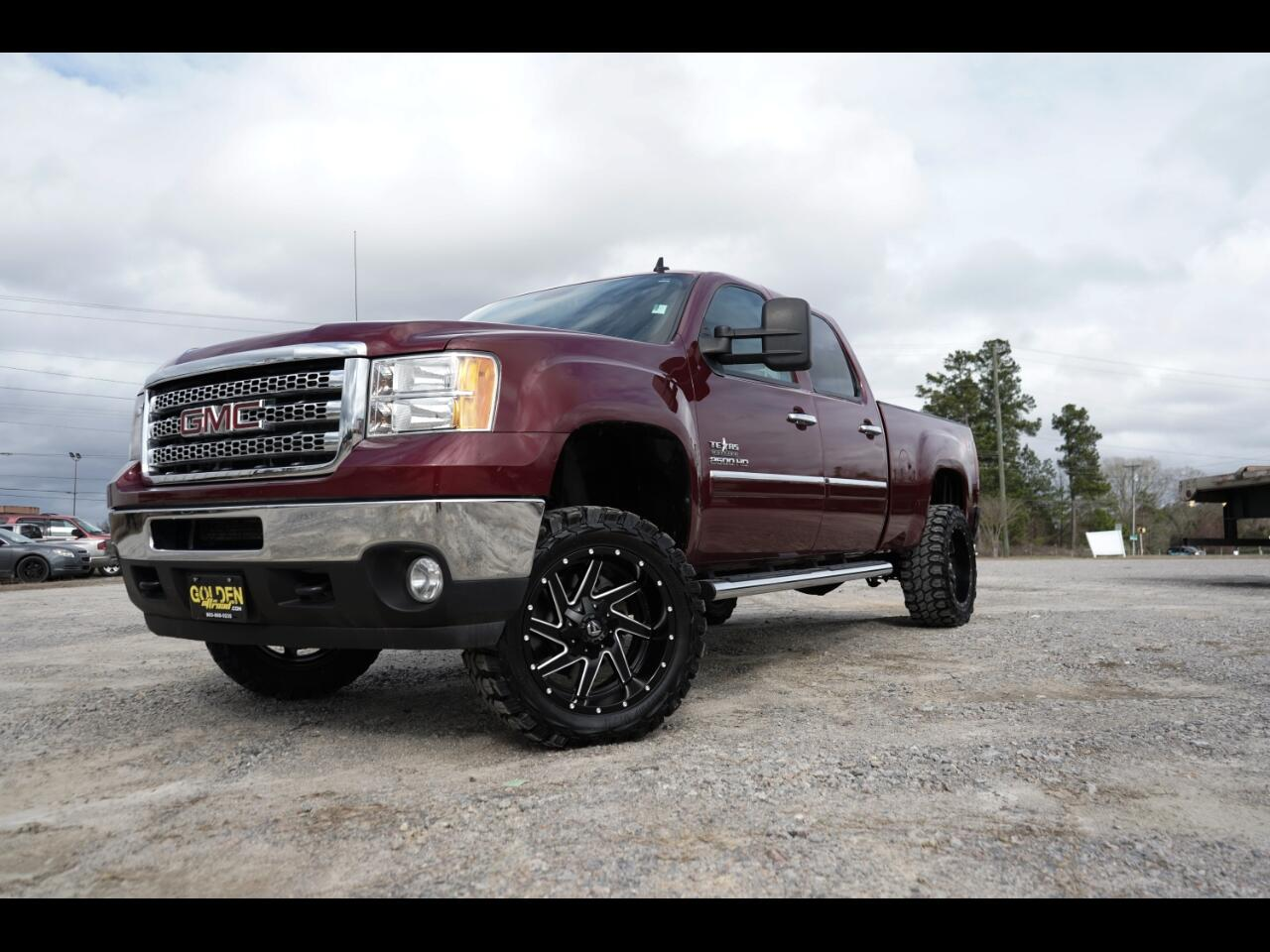 2013 GMC Sierra 2500HD 4wd Duramax Lifted Fuel Offroad Allison!