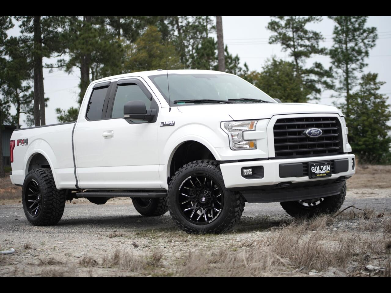 2015 Ford F-150 4wd FX4 Lifted Dropstar Wheels Color Keyed Bumpers