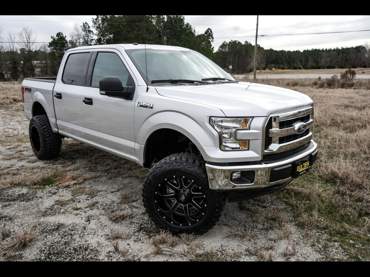 2017 Ford F-150 XLT SuperCrew 4WD FX4 5.5