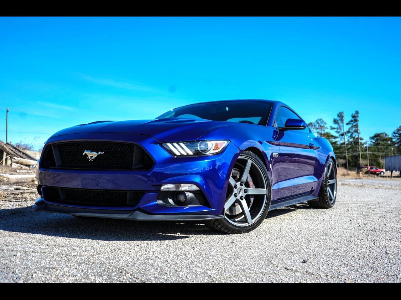 2016 Ford Mustang GT Track Pack Recaros Borla Kooks Brembos