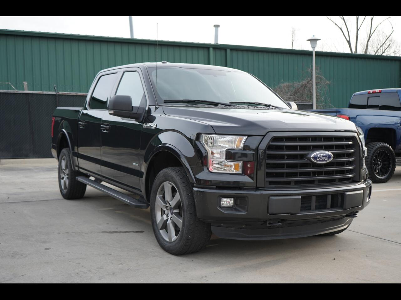 2015 Ford F-150 4WD SuperCrew 145 XLT Sport Package Loaded Up