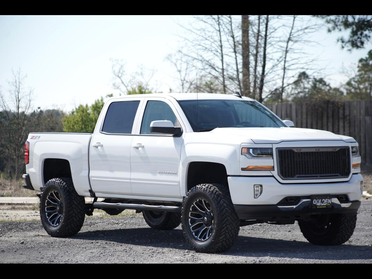 2017 Chevrolet Silverado 1500 4wd Crew Cab Leather Lifted LT 35's!!!