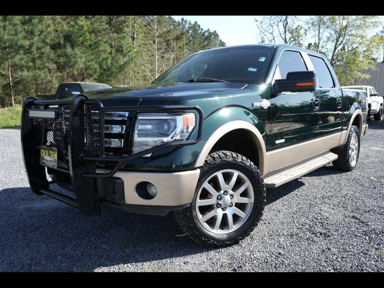 2013 Ford F-150 4wd Crew King Ranch Loaded Sunroof Leather Nav