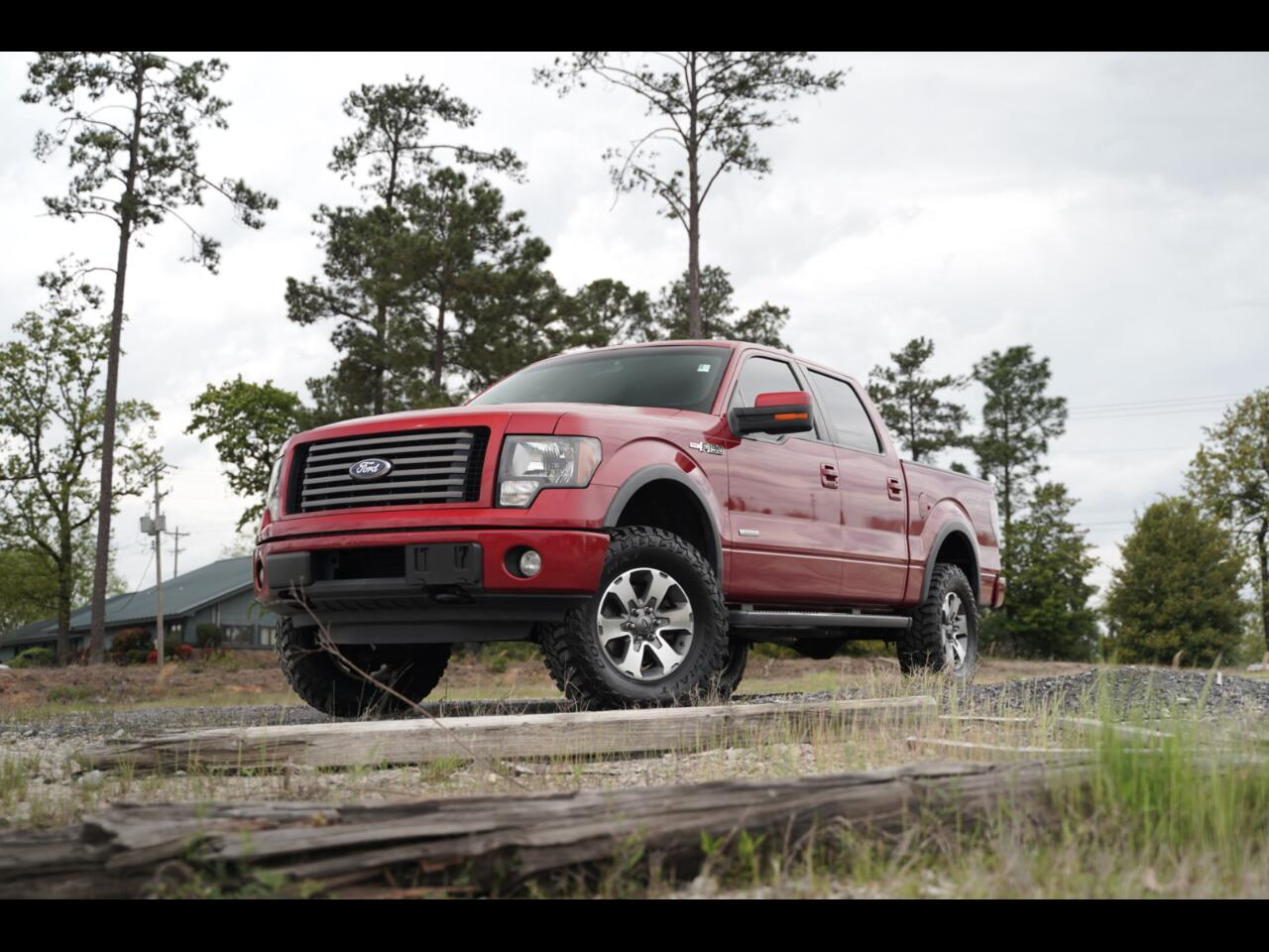 2011 Ford F-150 4wd Super Crew FX4 Lifted Sunroof MXT's