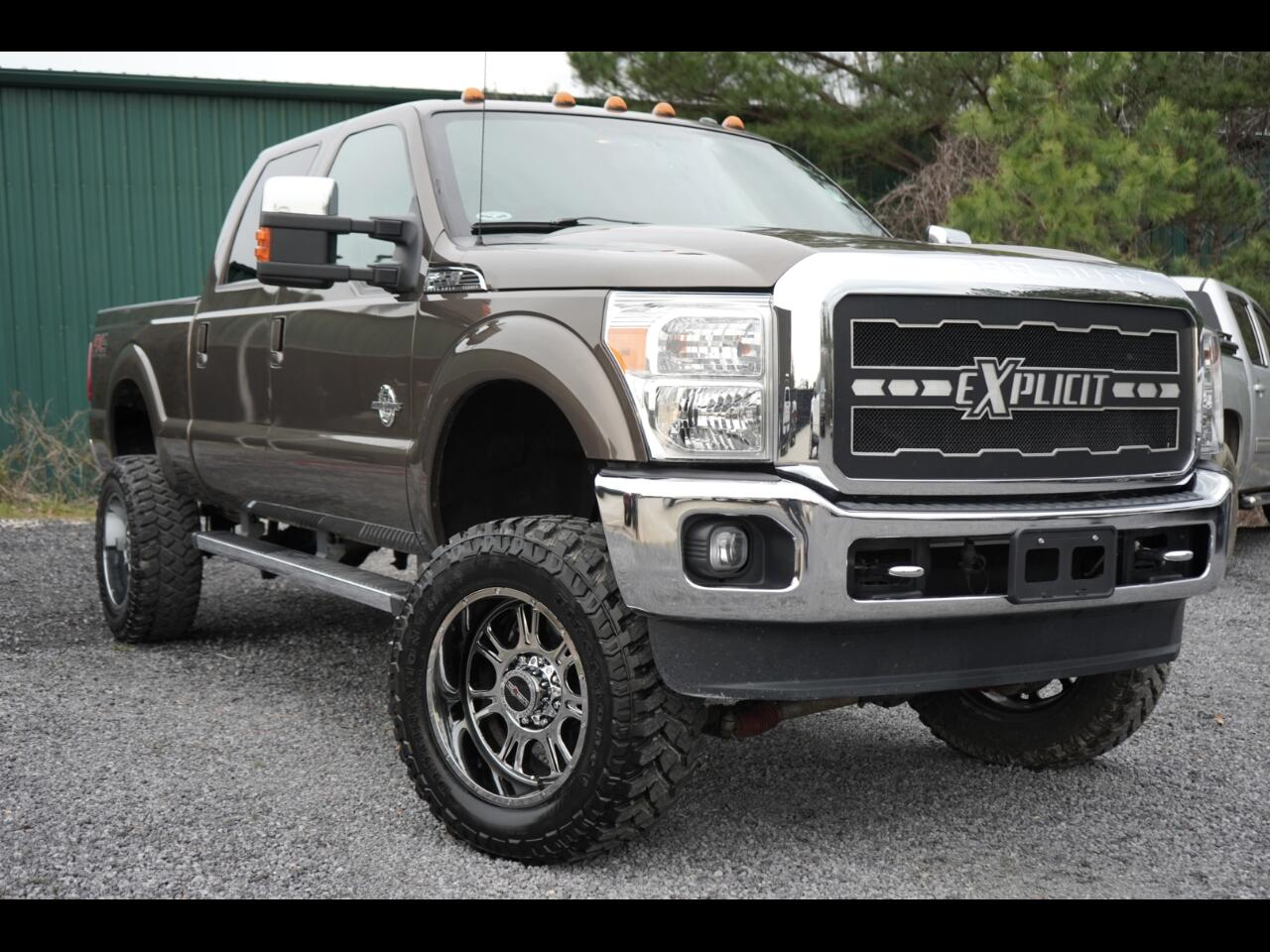 2015 Ford Super Duty F-350 SRW 4wd Crew Cab Diesel Lariat Power Stroke