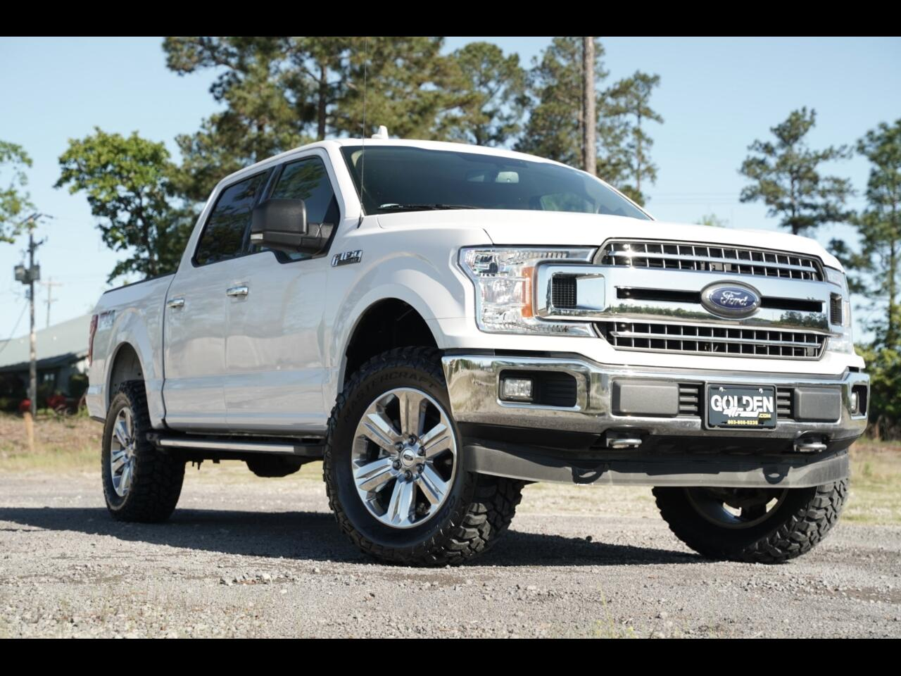 2018 Ford F-150 FX4 Lifted Crew Cab 4wd 5.0L Hurry!!!