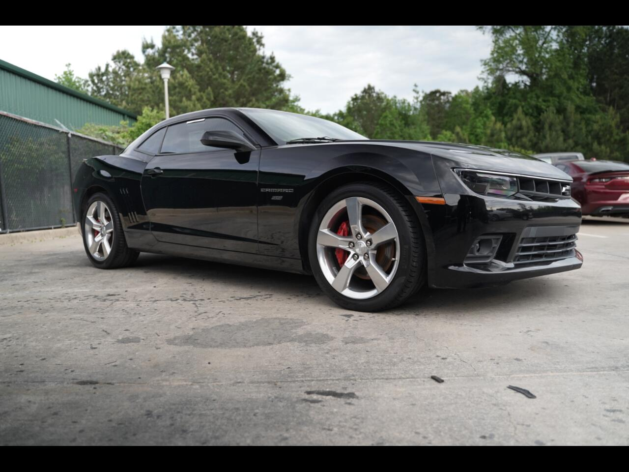 2015 Chevrolet Camaro 2SS Loaded Black On Black Must See SS V8!!!