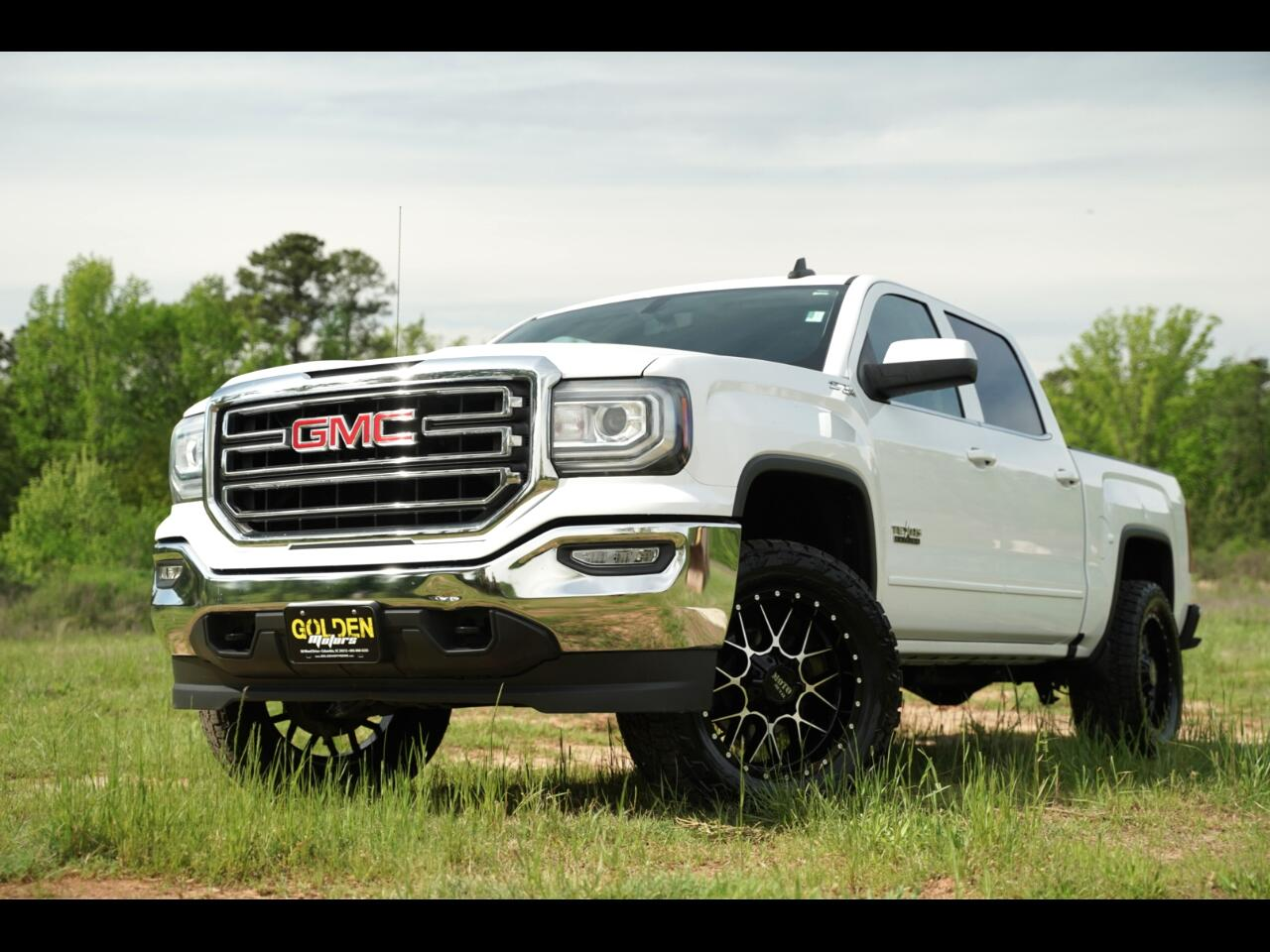 2016 GMC Sierra 1500 Z71 Lifted Crew Cab Moto Metal Mt's Hurry!!!