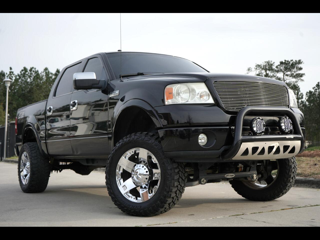2008 Ford F-150 4wd Lifted FX4 Leather XD