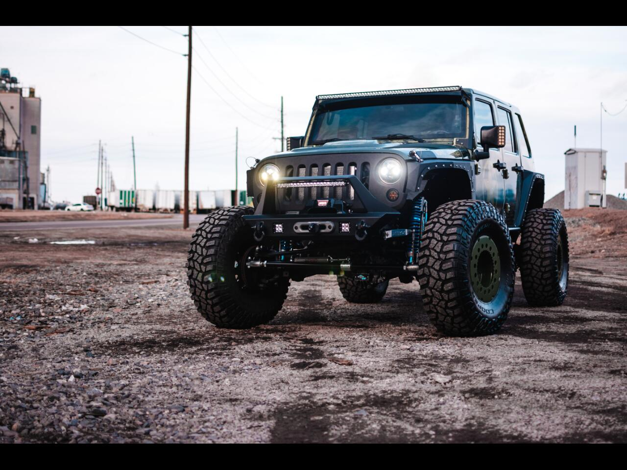 2007 Jeep Wrangler 4WD 4dr Unlimited Rubicon 427 (7.0L) SUPERCHARGED