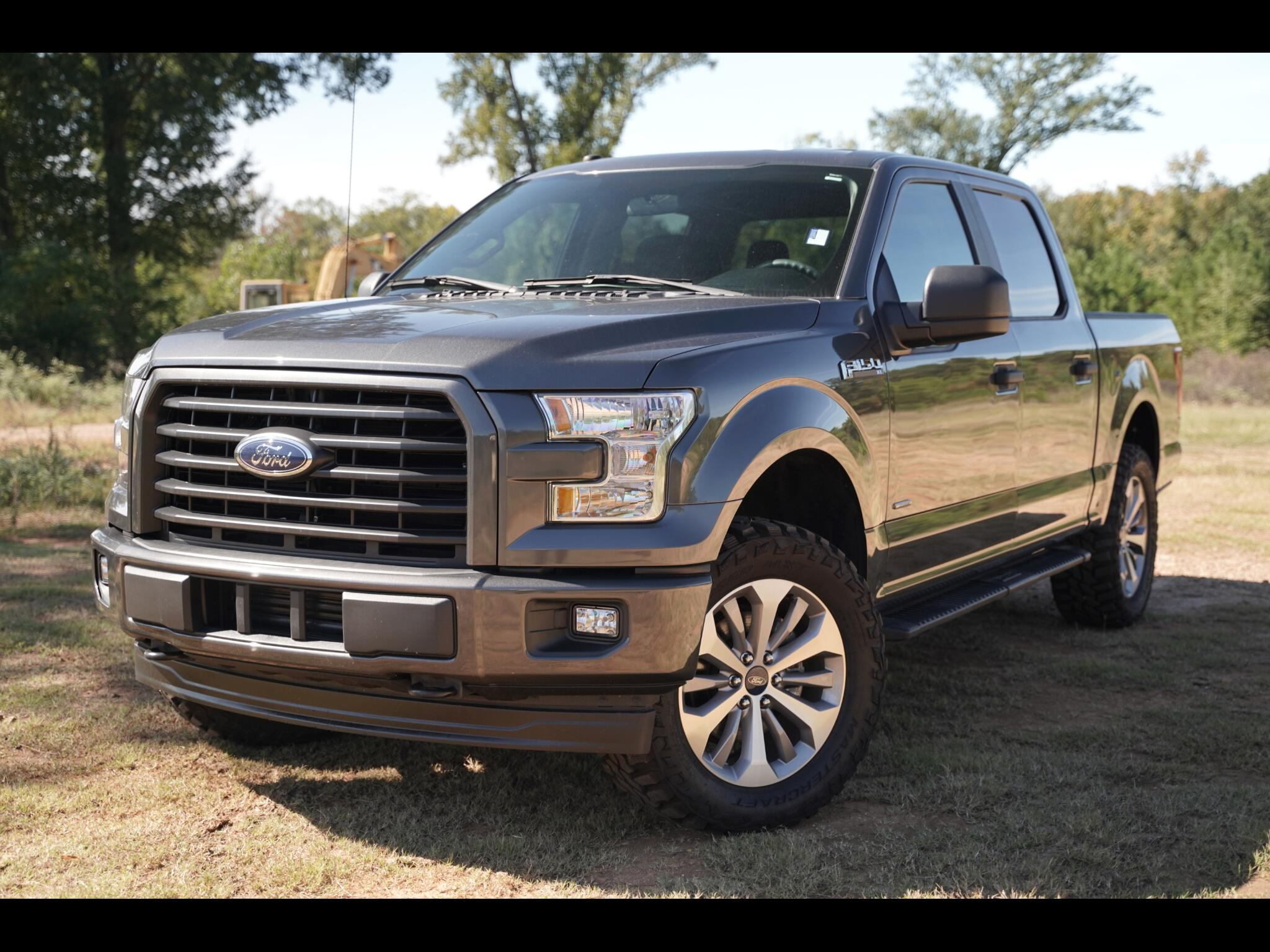 Ford F-150 XL 4WD SuperCrew 5.5' Box 2017