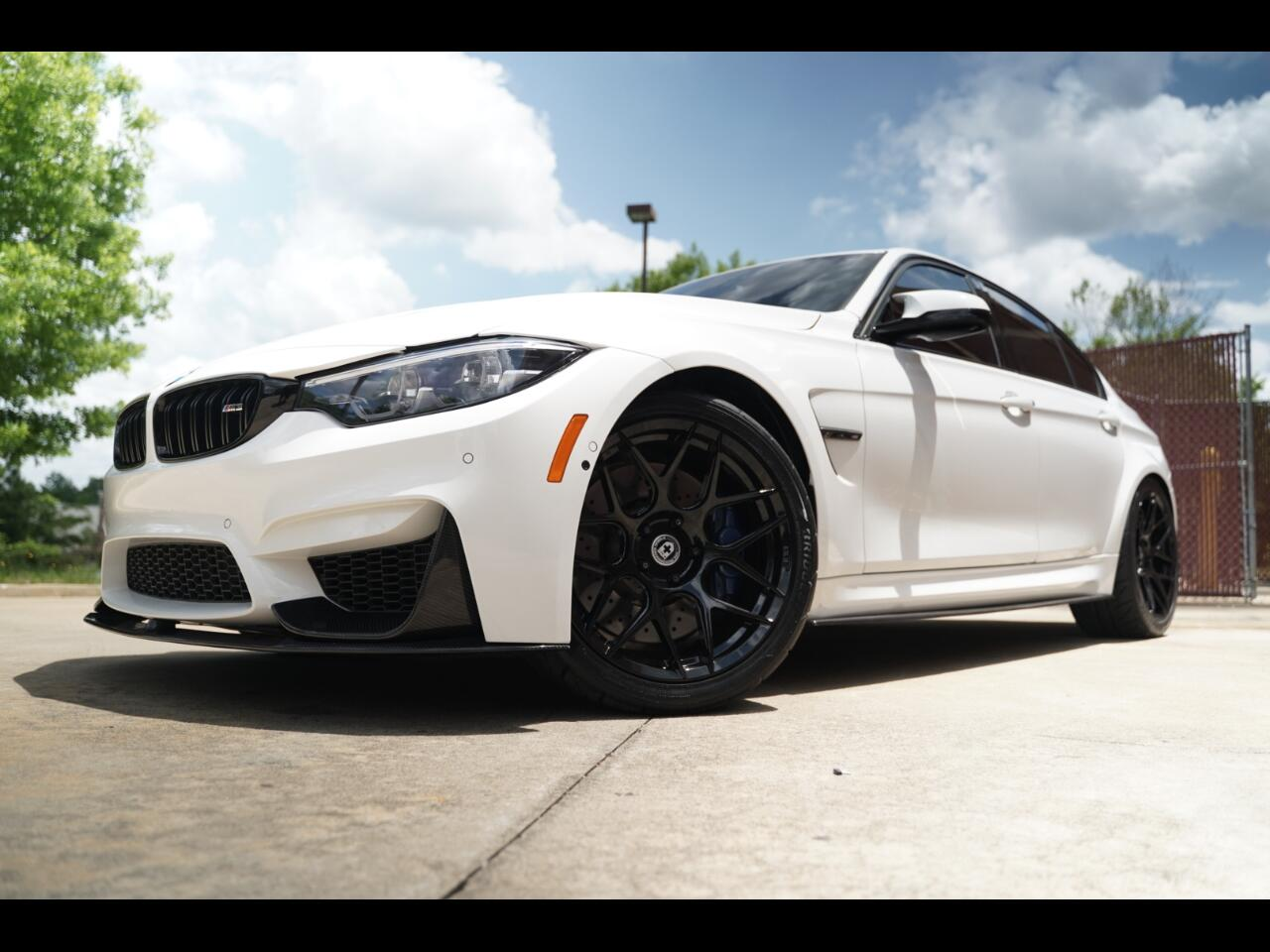 2018 BMW M3 M3 Loaded Sunroof Forged HRE Wheels Carbon Fiber